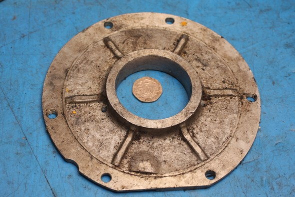 Sprocket cover plate Norton 69-0775 used