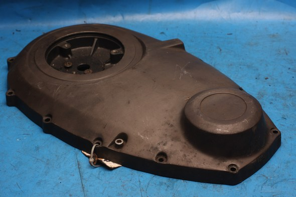 Chaincase outer cover grey Norton 69-0628 used