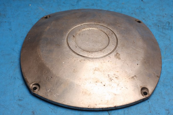 Generator stator cover chrome Norton 50-0282 used
