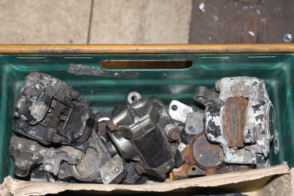 Brake caliper assorted box Norton Commander used