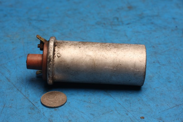 Ignition HT Coil 6V Genuine Lucas for Norton WW19376 used