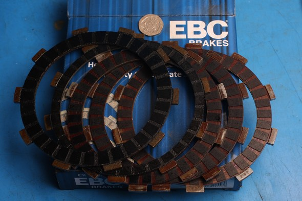 Replacement clutch Friction plate set of 5 WR125 YZF125 Used