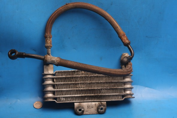Oil cooler H16600HR7700 used Hyosung GT125R GT125