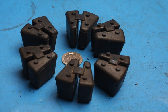 Cush drive rubbers Hyosung Comet GT125 GT125R used