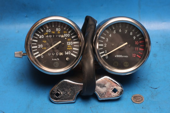 Speedo clocks and rev counter Keeway Superlight125 used