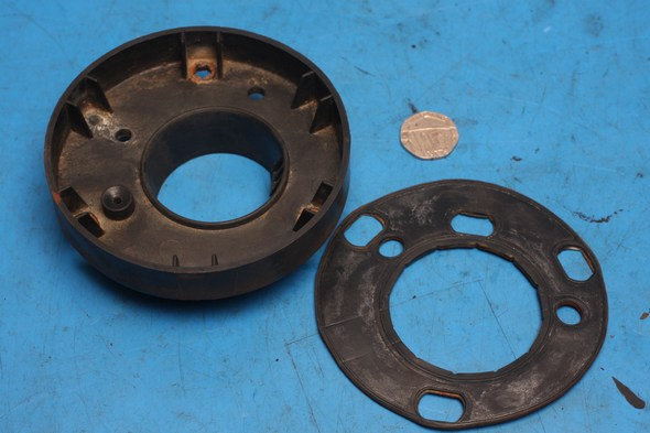 Petrol fuel tank cap gasket and cap infill Keeway RKV/S 125 used