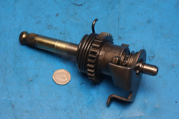 Kickstart shaft assembly Superlight125 used
