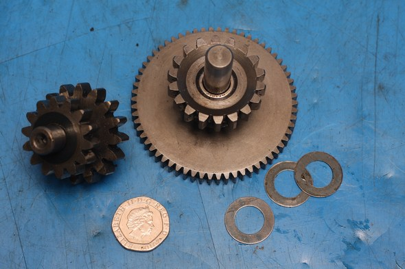 Starter driven gear, idle gear, shaft Keeway Superlight 125 used