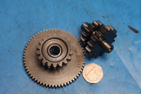 Starter driven gear and idle gear Keeway Superlight 125 used