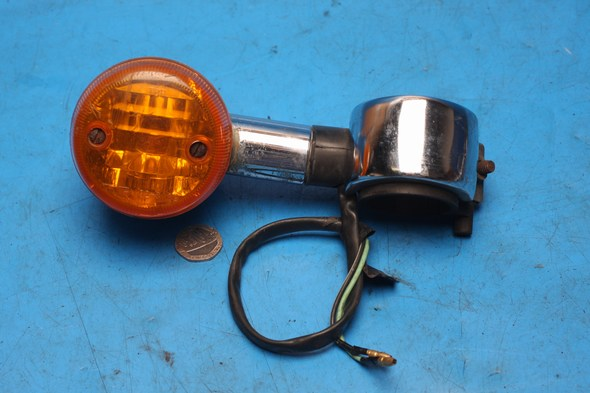 Indicator and mount left hand front Suzuki GZ125 used