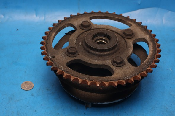 Rear sprocket and cush drive Suzuki GZ125 used