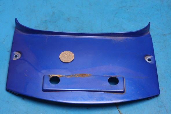 Rear panel blue Lexmoto Gladiator used