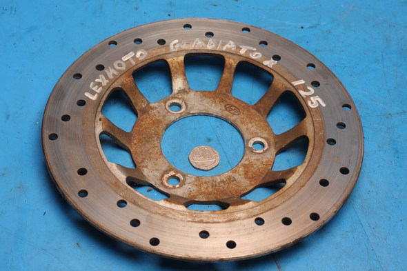 Brake disc front Lexmoto Gladiator used