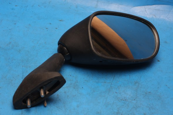 Mirror right hand matte black Yamaha FZS600 used