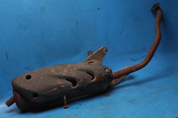 Exhaust assembly Sukida Viper 125 used