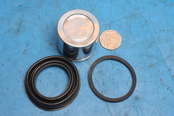Brake caliper piston and seals Honda CB750 F2 front caliper new