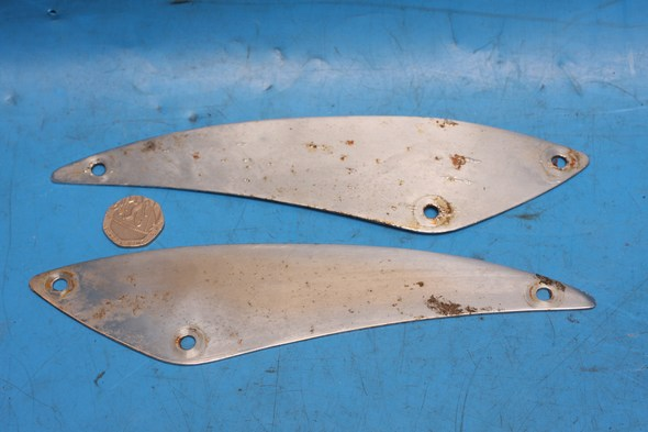 front Mud Guard Chrome Trim Honda GL1100 used