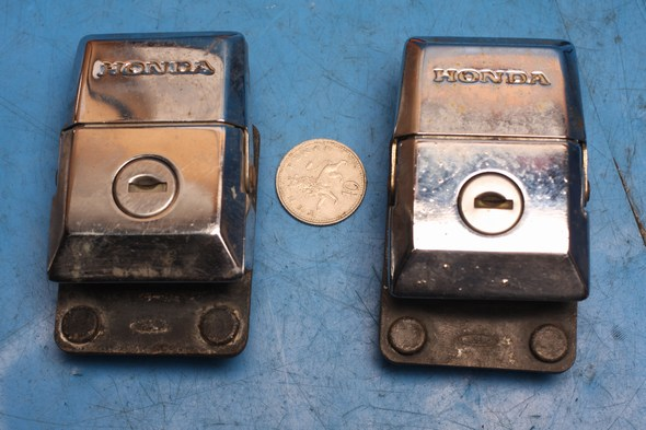 Pannier Locks Pair Honda GL1100 used
