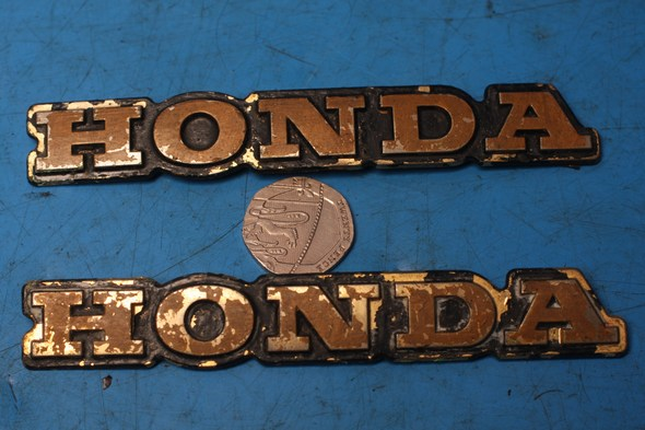 Pannier badges Honda GL1100 used