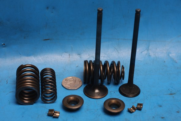 set of Valves, springs collets & seats Generic Codex125 Used