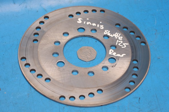 Rear brake disc Used Rear Sinnis shuttle 125EFI