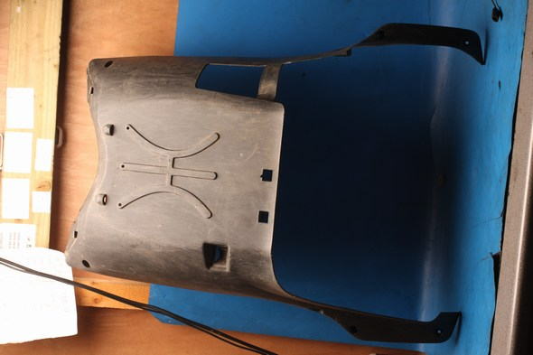 Lower fairing bellypan used Sym Crox125