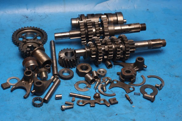 Gearbox parts assorted Hyosung GT125 models used