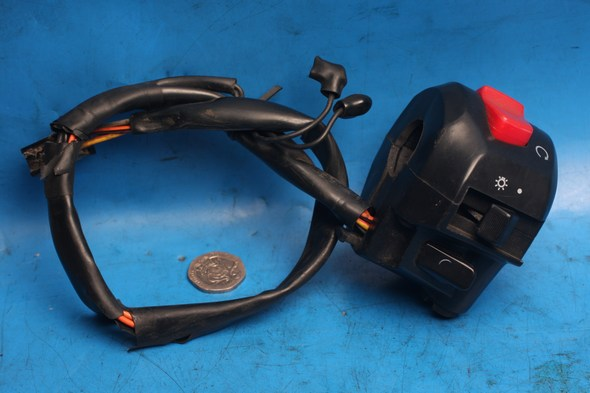 Right switch assembly Used Hyosung Comet GT125R
