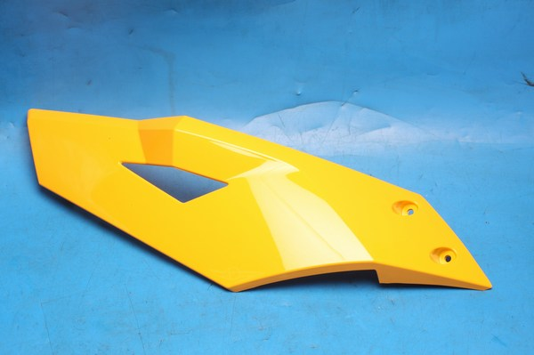 Petrol tank cowl upper leftt hand cover orange Generic Trigger50