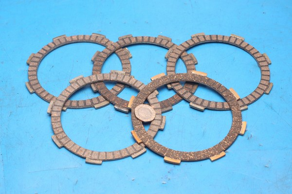 Clutch friction plate set of 5 same as EBC CK1151 Motoroma SK125