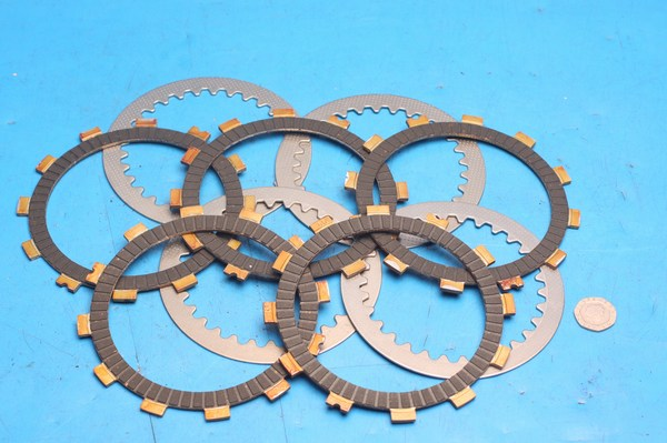 Clutch plate set friction and metal Generic KSR-Moto Keeway