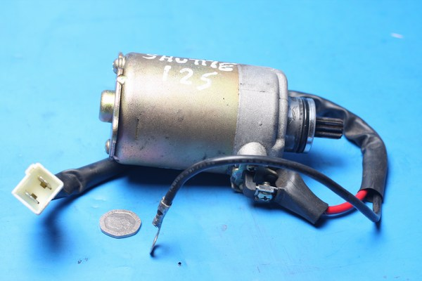 Starter motor used Sinnis Shuttle125 EFI and carb
