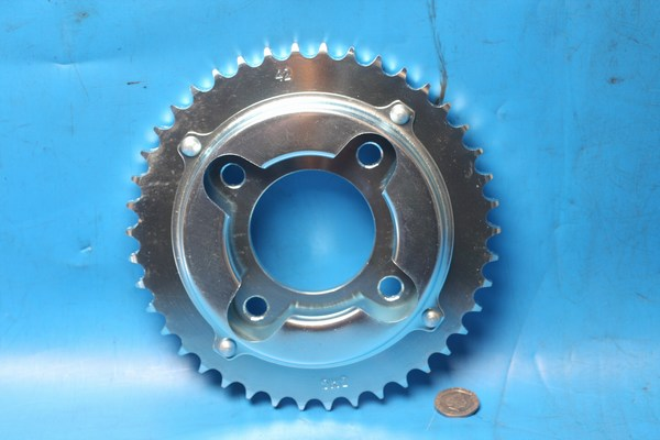 Rear sprocket Daelim VC125 same shape as JT269x42 41200-BA7-9110