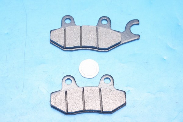 Daelim genuine brake pads same shape as EBC FA197