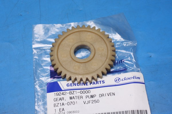 Gear, water pump driven Daelim VJ125F VJ250F VL250 19242BZ10000