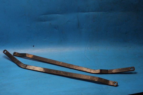 Pannier mount brackets lower pair Norton Interpol2 IP2 used