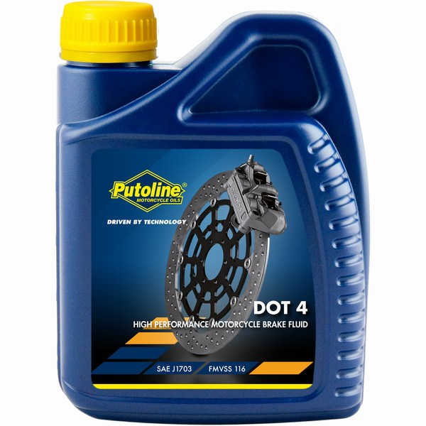 Dot 4 Synthetic high performance brake fluid 500ml