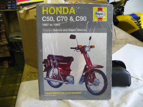 Honda C50 70 90 workshop manual book0324