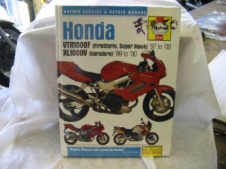 Honda 1000 Varadero and Firestorm workshop manual 3744