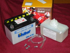 CB4LBS Motorcycle battery
