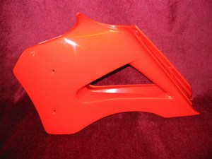 Radiator covers pair (Red) 2013400900R