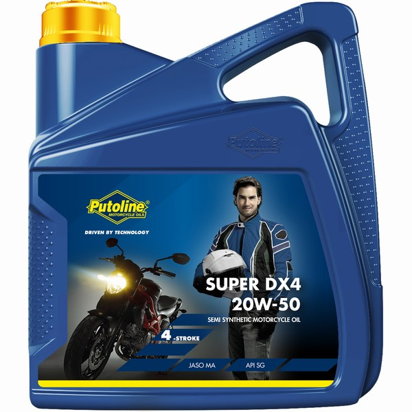 Super DX4 4l 20w/50 Semi-synthetic four stroke engine oil