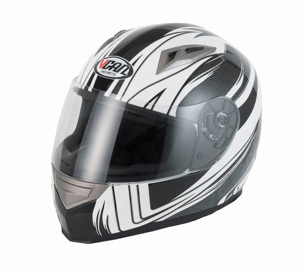 Helmet full face Vcan V158 Wind black / carbon large