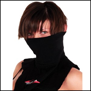 Neck warmer black RS performance