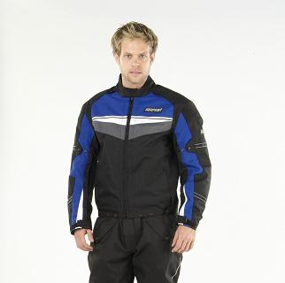 Mirage Textile Motorcycle Jacket Blue/Black/White 2XL