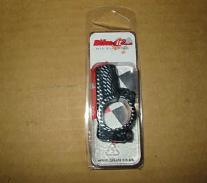 10mm Universal mirror mount carbon fibre look new