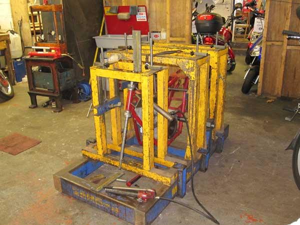Motoliner frame repairs