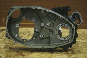 engine right hand endplate early water cooled prototype