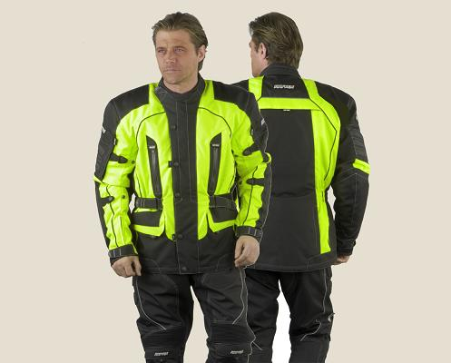 Fluo motorcycle jacket extra large XL