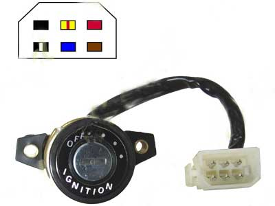 Ignition Switch Yamaha RD250E,F,RD400E,F 78-79(6 Wire) new